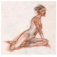 Life Drawing 8 by ChristineAltese