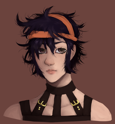 first narancia ive drawn somewhat properly by abst-rakd