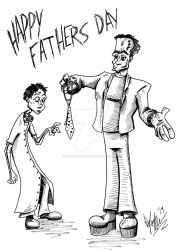 Happy Fathers Day by OuthouseCartoons