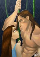 Tarzan and Jane by Sommum
