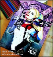 Suicide Squad - Harley Quinn (Remake) by Keith-arts02