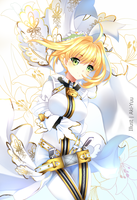 Saber Bride by Kawaii-White-Deer