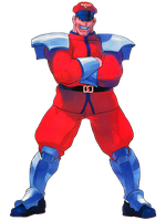 Street Fighter EX M.Bison by hes6789