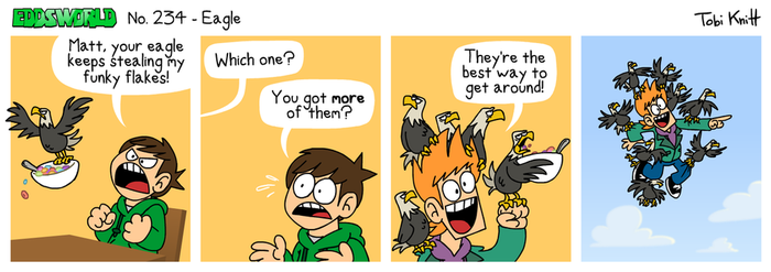 EWCOMIC No. 234 - Eagle by eddsworld