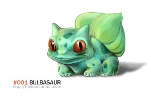 Realistic Bulbasaur by TheK40
