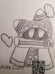Magolor sketch by Kirby-Star-Ultra