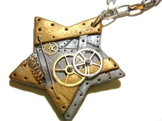 Twinkle Twinkle Steampunk Star by colourful-blossom