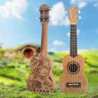 Middle-Earth Ukulele by AsliBayrak