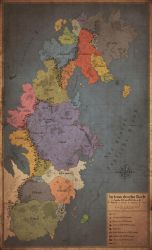The known World (political 1356 a. B., II. Age) by Orboroth