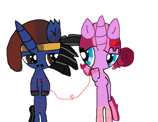 Red String of Destiny by Pigpeter