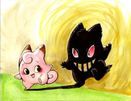 Clefairy and Her Shadow