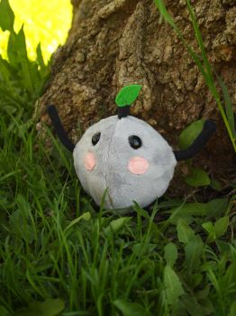 Grey Junimo Plush by WhimsicalSquidCo