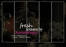 fresh textures pack by Komaldesignz by neelohoney