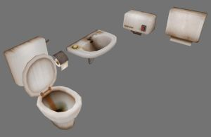 sanitary props by ToTac