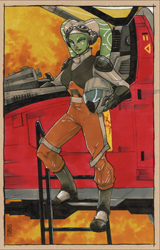 Hera Syndulla by Hodges-Art