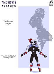 FNAM: Abigail the Puppet by Aileen-Rose