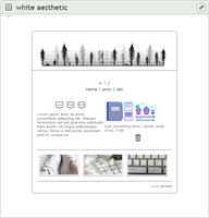 box | white aesthetic by bo-tanic