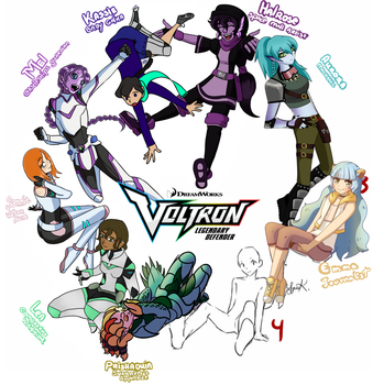 Collab Voltron by Frappuchii