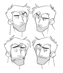 Constantine Expressions by cartoonjunkie