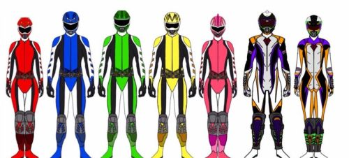 Power Rangers Enduro by Eddmspy