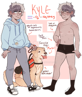 kyle ref by pine-boii