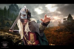 Eowyn - Lord of the Rings Composition by faramon