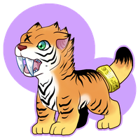 Tiger DGMN Design by LostDigidestined