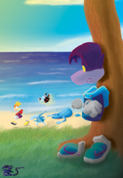 RAYMAN - How I Envy You... by ZaxsSouven