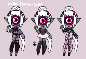 [outfit set] - ObsceneBarbie [two] by hello-planet-chan