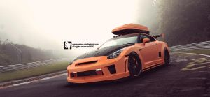 Nissan R35 GT-R by samvesters