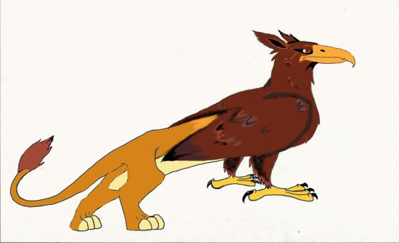 Disney Styled Norwegian Gryphon by Dragonfire810