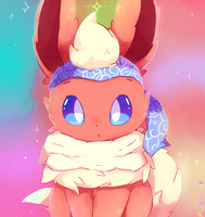 Flareon commission by purpleninfy