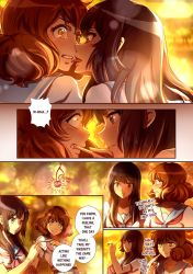 Reina x Kumiko short comic pg.2 by CherryInTheSun