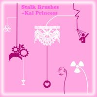 Stalk Brushes New Set: by KaiPrincess