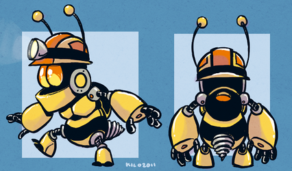 Beebot by Kilo-Monster