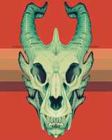 Dragon Skull by ashbits