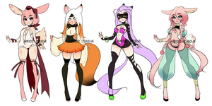 (CLOSED) AdoptableS .o21 by Mymy-TaDa