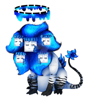 Neptune The Wither Lion by BabyWitherBoo