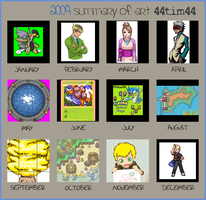 2009 Summary of Art by 44tim44