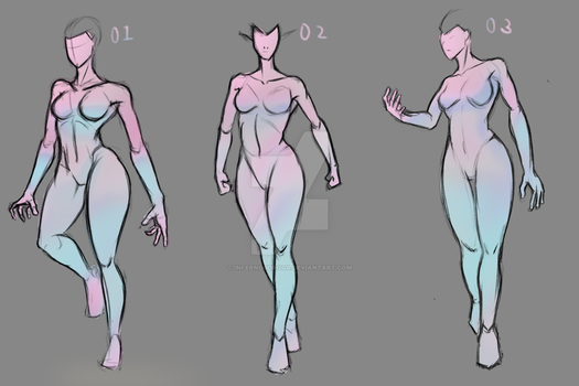 tutorial body woman anatomy-poses on drawing-tutorial - deviantart, Human Body