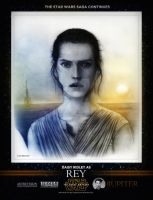 AR: STAR WARS FORCE AWAKENS | DAISY RIDLEY as REY by JupiterGrace