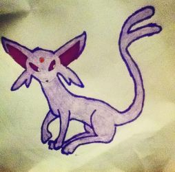 espeon by fadedtwilght