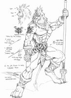 The lion character in Roleplay by WolfLSI