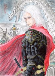 Rhaegar Targaryen (Book Version) by danielcamilo
