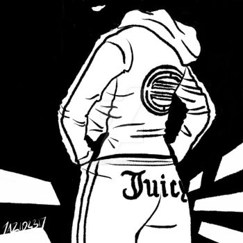 Inktober 2017: Juicy by siamgxIMA