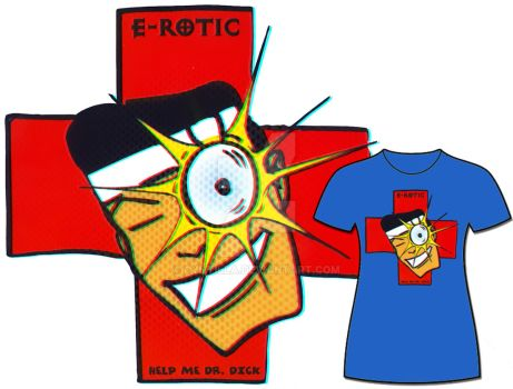 E-rotic: The T-shirt by Cyntilla
