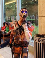 Psycho from Pandora (Borderlands) by geekypandaphotobox