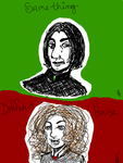Snape and Hermione by Goblin-Queenie