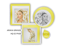 +PACK PNG ARIANA OO4 by worldxcrazy