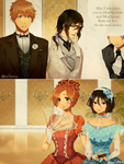 victorian au by ksmile1313